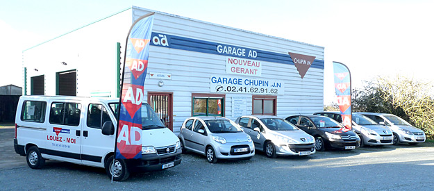 Garage chupin chemill st georges des gardes for Garage ad saint georges de reneins